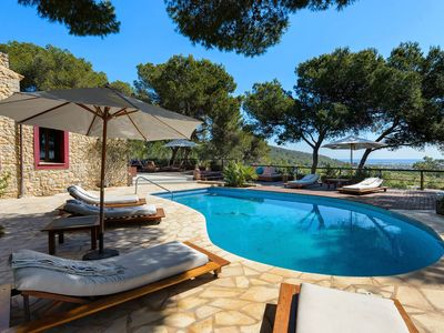 Photo for Luxury Villa Autentik, in Ibiza, with private pool, 6 bedrooms, 12 sleeps