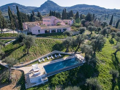 Photo for Entire luxury estate by the beach in Messonghi, Corfu  - with cook and staff