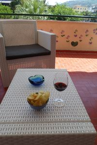 Photo for Ge, P. A's Central Apart. in Sorrentofamiglie, relax with FreehighspeedWI terrace-