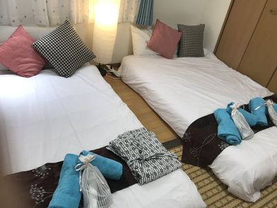 Photo for Japanese style room 7 minutes to Shinjuku Central Tokyo convenient for transportation Convenient for up to 4 people.