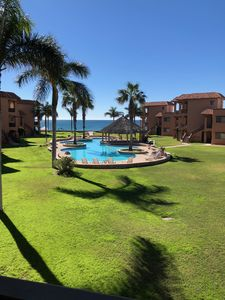 Photo for 3 Bedroom 2 Bath Beach Front Condo Bahia Delfin San Carlos