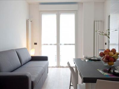Photo for Candiani 2B  apartment in Porta Garibaldi with WiFi, integrated air conditioning, balcony & lift.