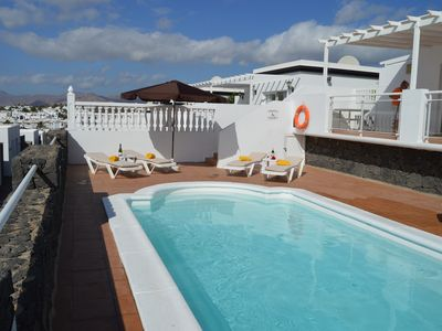 Photo for Villa blue skies, villa with private pool and stunning sea views