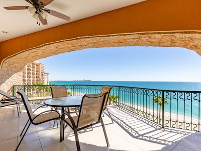 Photo for Sonoran Sea West 505 - 2 Bedroom Upper Floor Ocean Front