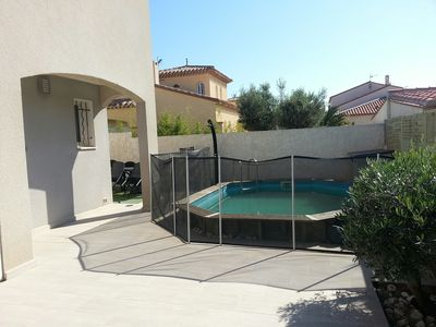 Photo for Charming villa 5 mins from the sea with pool / Lovely villa with pool