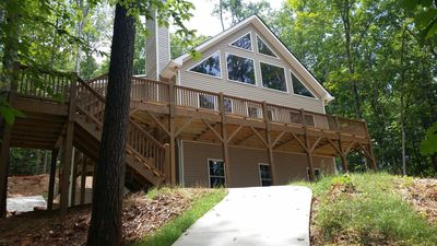 Photo for Newer Beautiful Home on Lake Hartwell with Covered Boat Slip Near Clemson