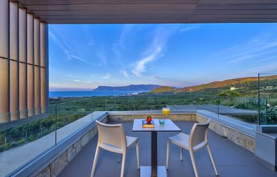 Photo for Youphoria Villa Oneiro cosy, fully private, infinity pool, spectacular sea view