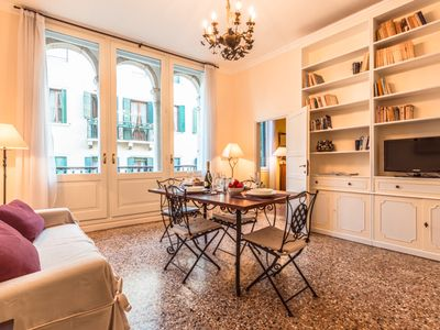 Photo for Sunny and welcoming apartment on the 2nd floor of a peaceful antique palazzo