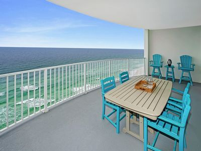 Photo for GULF FRONT BALCONY!! OPEN 2/15-22!!  SLEEPS UP TO 6!