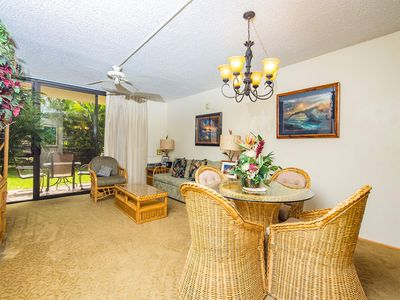 Photo for Casual w/Homey Touches! Kitchen Ease, WiFi, AC, Lanai to Lawn–Kamaole Sands 9101