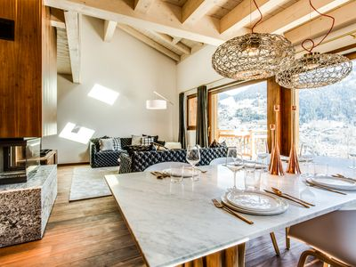 Photo for Luxury chalet WHITE DIAMOND, Coteau du Bettex