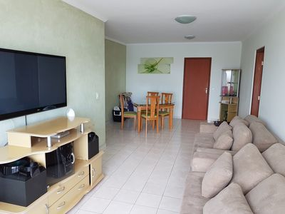 Photo for Apartment with full view of the beach, 2 bedrooms, accommodation for 10 people