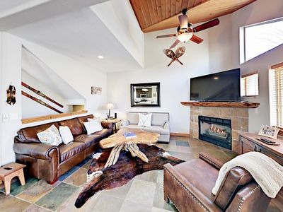 Photo for 4BR w/ Private Hot Tub - Walk to Bus Line, Short Drive to Skiing & Downtown