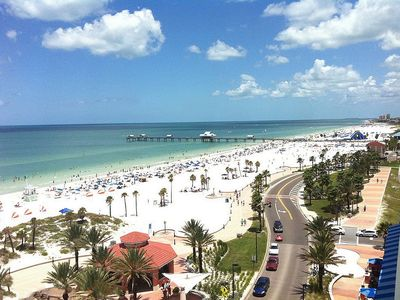Photo for Gulfside   Excellent Location across from the Beach with King Bed