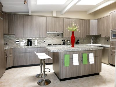 The recently remodeled fully-stocked Chef's Kitchen