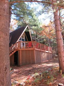 Photo for Romance, Year-Round Outdoor Adventure, Whiteface Views, Hot Tub, Fireplace!
