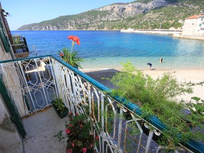 Photo for Two bedroom apartment near beach Komiža, Vis (A-8533-b)