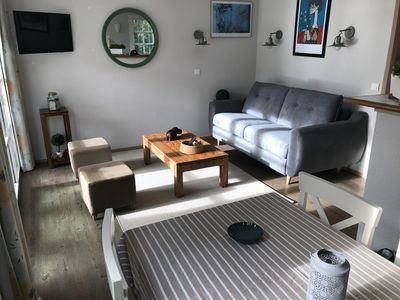 Photo for Sea view apartment Benodet, 20 meters from the beach