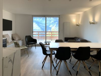 Photo for High-end apartment at 400m from the first slopes and 10min from the ARCS 1800