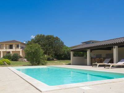 Photo for Villa standing Pool & Hammam and garden of 5300 m2 / beach at 700m