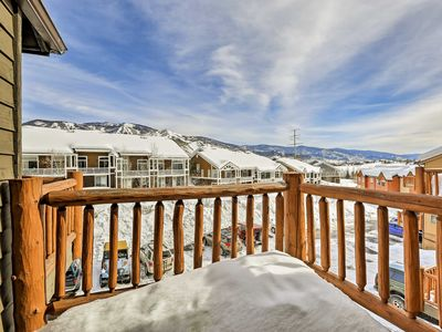 Photo for NEW! Cozy Townhome 6 Miles to Steamboat Ski Resort