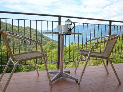 Photo for Stunning Italian Lakes villa with lake views. BBQ. WIFI. Wii games console.