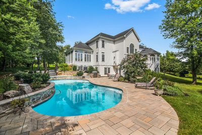 Pool, Patio, and Grill