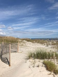 Dunes, Beach, and Endless Sky