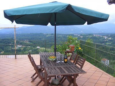Photo for Rustic villa in tranquil setting, Cinque Terre 25 mins by train from Aulla.