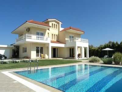 Photo for Luxury Detached Villa Near Kalithea, Faliraki & Rhodes Town