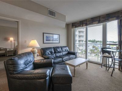 Photo for Waterway and Marina Views.  Great Location & Prime Weeks still available!