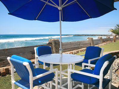 Photo for 20% off August openings! Direct BEACHFRONT LUXURY condo D19, LOTS OF EXTRAS!