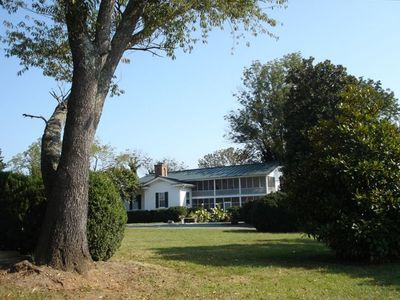 Photo for 1856 Manor House on 600-Acre Working Horse/Cattle Estate