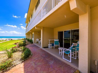 Photo for A104- Perfect 2/2 condo! Fantastic beachfront location just off Flagler Ave!