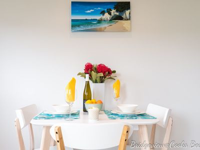 Photo for 2BR Apartment Vacation Rental in Cooks Beach, Waikato