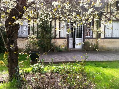 Photo for Nice Norman villa with large garden in the heart of Cabourg