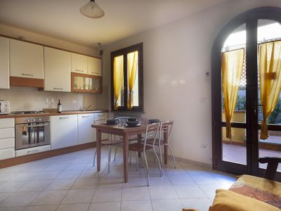 Photo for Pugnitello 1  apartment in Livorno with WiFi, integrated air conditioning, private parking & privat…