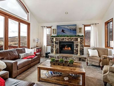 Photo for Ideal Mountain Getaway! 2 Master Suites, Private Hot Tub, Amazing Views, Perfect for Large Groups!