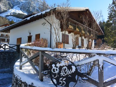 Photo for Apartment near the bike path and 10 km from Cortina d'Ampezzo