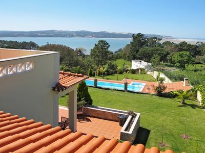 Photo for This 5-bedroom villa for up to 10 guests is located in Foz Do Arelho and has a private swimming pool
