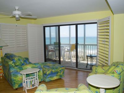 Photo for Tastefully Decorated, Oceanfront Double Condo