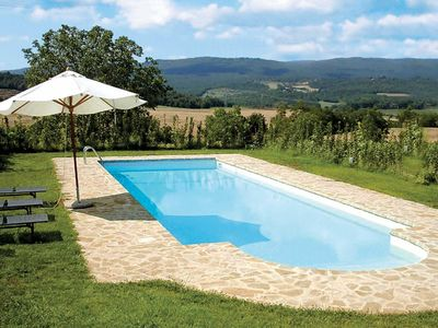 Photo for Renovated stone farmhouse w/ pool and garden easy access to attractions