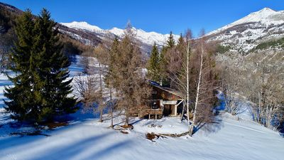 Photo for Springboard Chalet - Val d'Allos La Foux - Summer-Winter - Located on the slopes