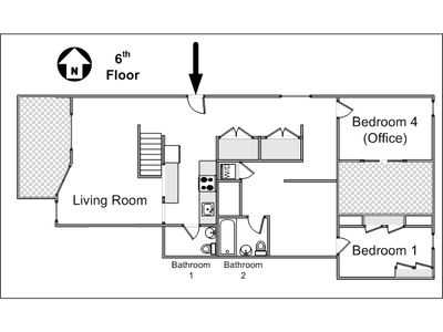Floorplan upper floor