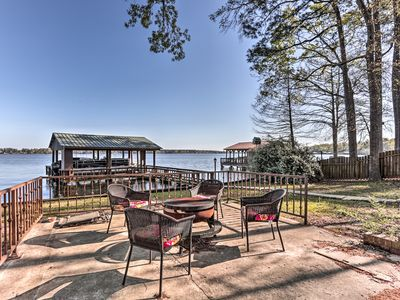 Photo for Waterfront House on Toledo Bend w/ Private Dock!