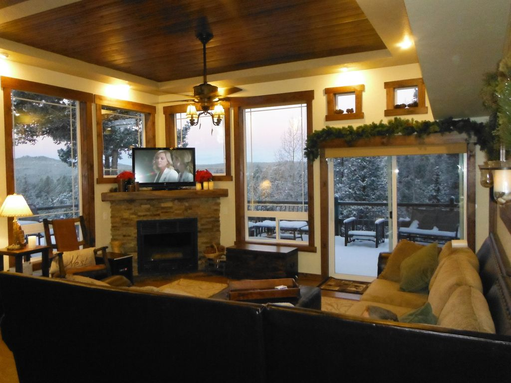 Cabin, Mountain Views, Hot Tub, Steam Sauna, WIFI, Close To National Forest Part 19