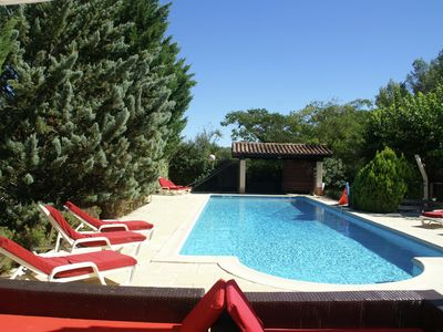 Photo for Modern Villa in Lorgues with Private Pool