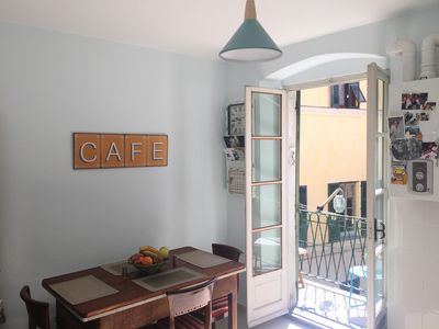 Photo for Immaculate apartment with balcony in Finalborgo and near gorgeous beaches