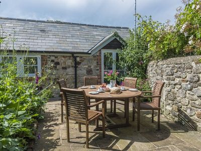 Photo for Bay Cottage is a short walk away from The National Trust Downs and Brook Beach.