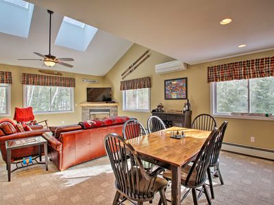 Photo for NEW! North Conway Retreat, 1 Mile to Cranmore Mtn!
